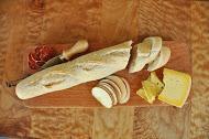 Albemarle Baking Co. bread, Caromont Farm cheese, Olli salame