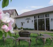 Our tasting room is just a few steps from the guest house