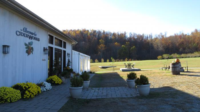 Fall at Albemarle CiderWorks