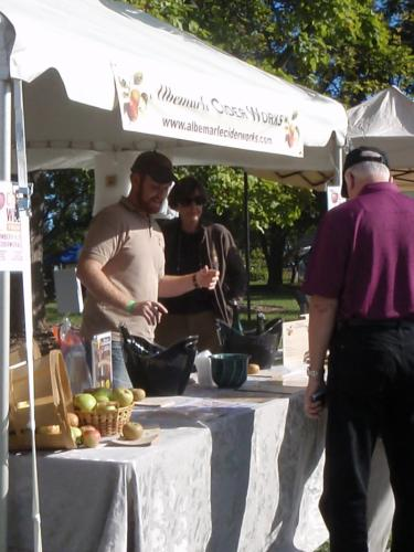 Albemarle Ciderworks at Monticello's Heritage Harvest Festival