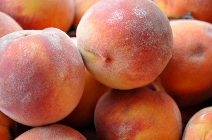 Tree-ripened peaches are hard to beat