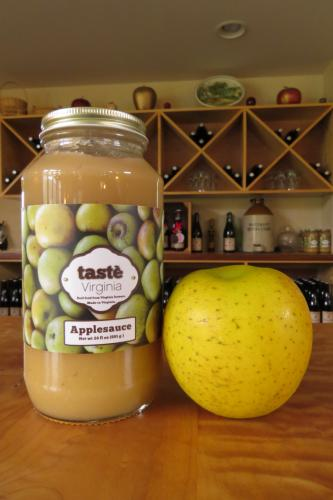 Vintage Virginia Apples Applesauce!
