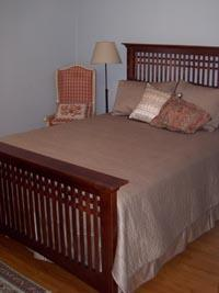 Each bedroom is fully-supplied with linens.